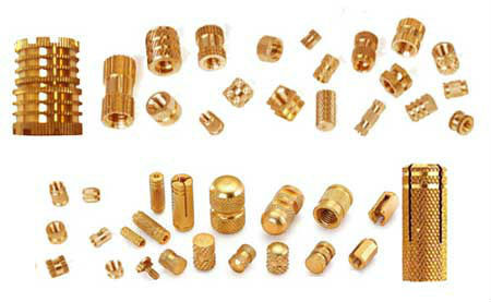 Brass Milling Basic Electrical Components Made By High Precision CNC Machines